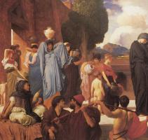 Frederic Leighton. Captive Andromache