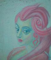 Вячеслав Коренев. Дама с розовой причёской
