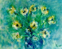Мари Ромеро Кампо. Букет цветов 3
