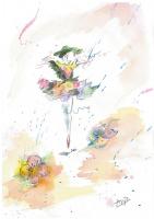 """Anastasia Alexandrovna Rudene. """"The dancer"""""""