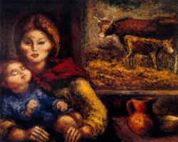 Артуро Соуто. Мать с ребенком на руках