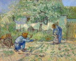 Vincent van Gogh. First steps