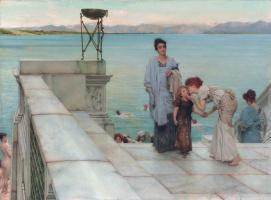 Lawrence Alma-Tadema. A Kiss
