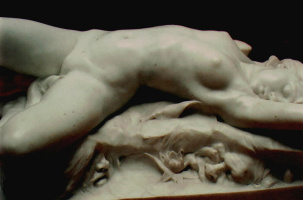 Карл Питер Хасселберг. Обнаженная женщина (фрагмент)