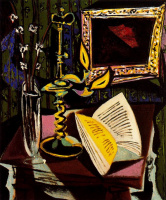 Пабло Пикассо. Натюрморт с подсвечником