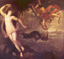 Тициан Вечеллио. Персей и Андромеда