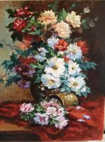 "Natalia Lutsenko. Reproduction Of ""Bouquet"""