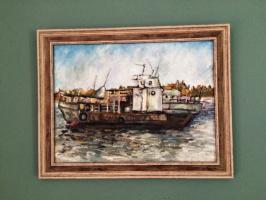 Portrait of a ship on Tom