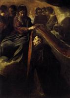 Диего Веласкес. Покров Богородицы над святым Ильдефонсом
