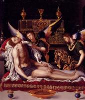 Алессандро Аллори. Мертвое тело Христа