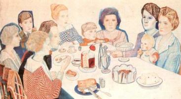 Павел Николаевич Филонов. Семейный портрет