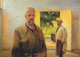 Jacek Malchevsky. Self-portrait