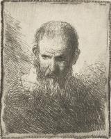 Ян Ливенс. Бюст пожилого мужчины
