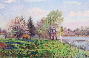 Давид Давидович Бурлюк. Весна