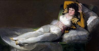 Francisco Goya. The clothed maja