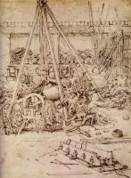 Леонардо да Винчи. Гигантская пушка