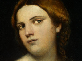 Себастьяно дель Пьомбо. Портрет молодой женщины