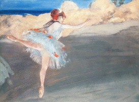 Эдгар Дега. Звезда: балерина на пуантах