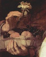 Хосе де Рибера. Мистическое обручение св. Екатерины Александрийской. Фрагмент