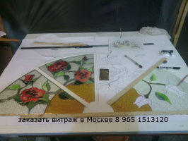 Заказ витражи может любая размера большой скидками Custom stained glass windows can be any size +7 965 1513120