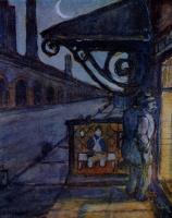 Мстислав Валерьянович Добужинский. Горбун. 1909