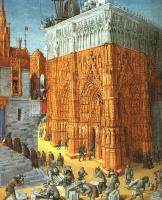 Жан Фуке. Евреи строят Храм в Иерусалиме