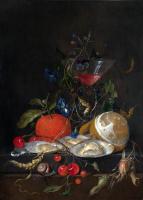 Ян Давидс де Хем. Натюрморт с апельсинами