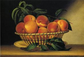 Рафаэль Пил. Миска с персиками