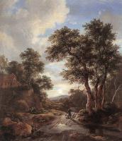 Якоб Исаакс ван Рейсдал. Восход в лесу