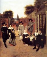 Питер де Хох. Голландская семья