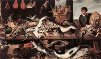 Франс Снейдерс. Торговцы рыбой