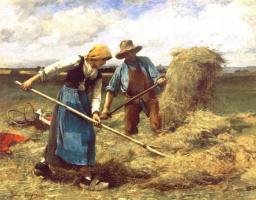 Жюльен Дюпре. Пшеничное поле