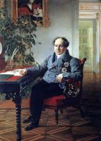 Карл Павлович Брюллов. Портрет члена Государственного совета Голицына