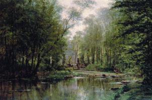 Alexey Petrovich Bogolyubov. Forest in Vela. Normandy