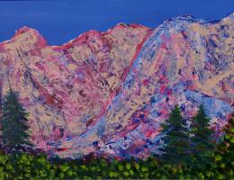 Tatiana Alexandrovna Terebilina. Colorful mountains