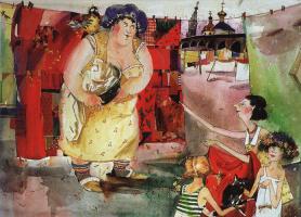 Валерий Валентинович Архипов. Большая стирка.  1996