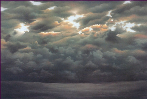 Анна Садворс. Облака
