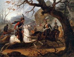 Эмиль Жан Орас Верне. Наполеоновские битвы в Альпах