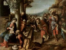 Антонио Корреджо. Поклонение волхвов