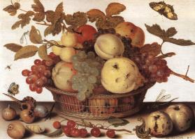 Балтазар ван дер Аст. Корзина с фруктами