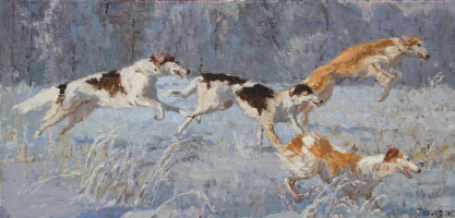 Diana V. Korobkina. The hounds 2012