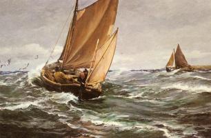 Чарльз Напье Хему. Несмотря на ветра и непогоды