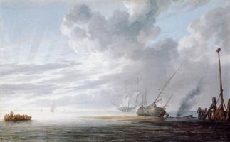 Виллем ван де Вельде Младший. Сюжет 12
