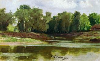 Илья Ефимович Репин. Берег реки