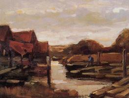 Томас Ван Хек. Балки на северной дамбе