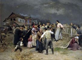 Николай Корнильевич Пимоненко. Жертва фанатизма.  1898