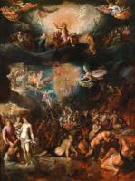 Франс Франкен Младший. Страшный суд. 1609
