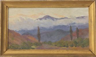 Сергей Яковлевич Лагутин. Крым, облака