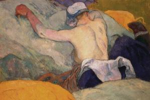 Paul Gauguin. Heat (Pig)