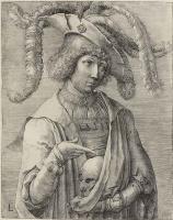 Лукас ван Лейден (Лука Лейденский). Юноша с черепом